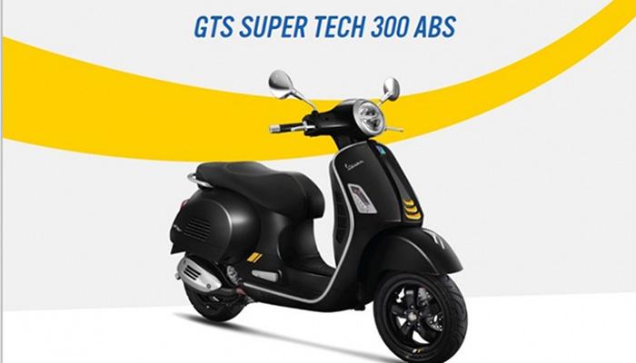 Vespa GTS Super Tech 300 ABS หล่อเทห์โดนใจ