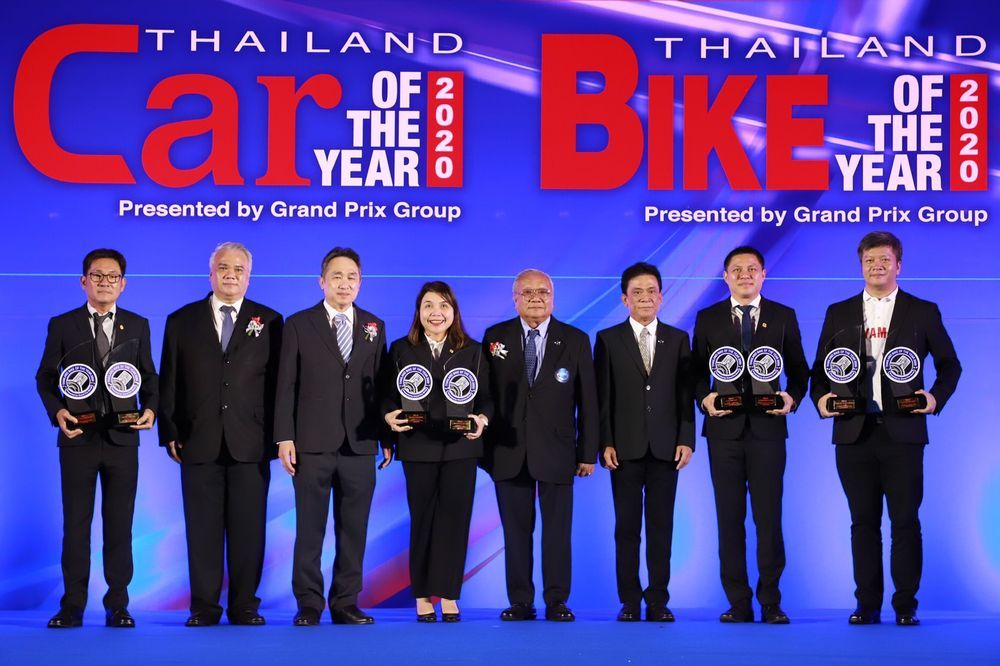 THAILAND BIKE OF THE YEAR ปี 2020