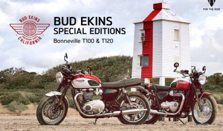 Triumph เปิดตัว Bonneville T120 T100 Bud Ekins