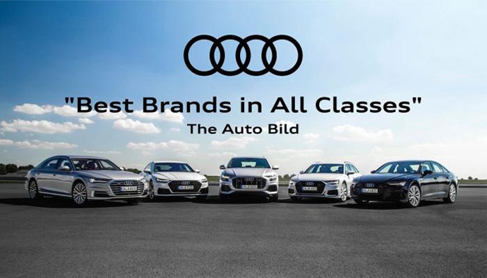 Audi กวาดรางวัลไปเพียบมากถึง 7 รางวัล The Auto Bild 2020