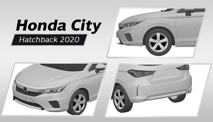 เผยภาพเรนเดอร์ Honda City Hatchback 2020 ก่อนเปิดตัวในไทย