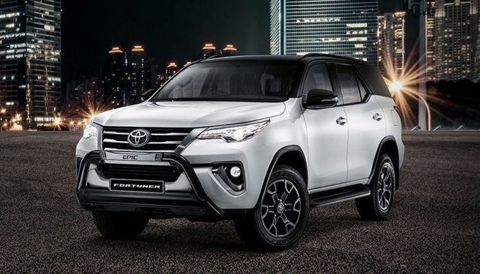 Toyota Fortuner Epic พร้อมบุกแอฟริกาใต้แล้ววันนี้