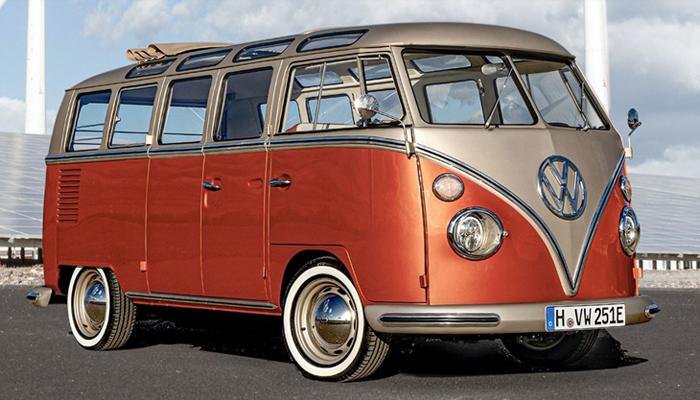 Volkswagen e-Bulli Concept รถยนต์ไฟฟ้าแต่ใช้ดีไซน์เดิมๆ