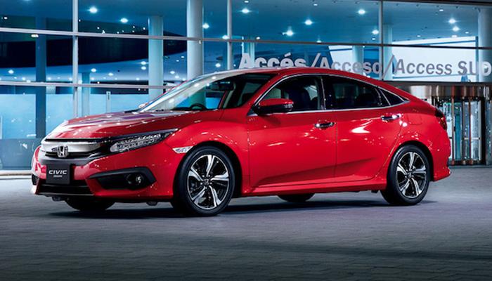 สวย เจ็บ เบอร์แรง Honda Civic รุ่น TURBO RS มีสีใหม่ Ignite Red