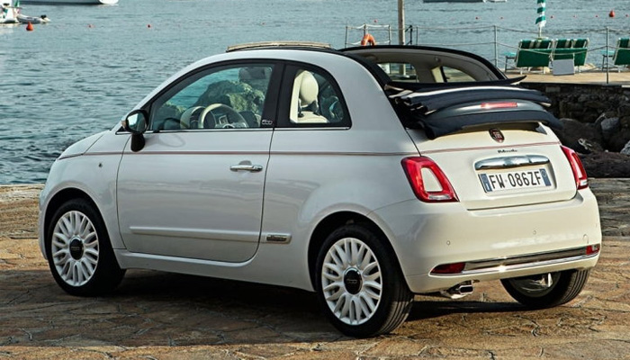 Fiat 500C Dolcevita เปิดประทุนดีไซน์เฟี้ยวฟ้าว