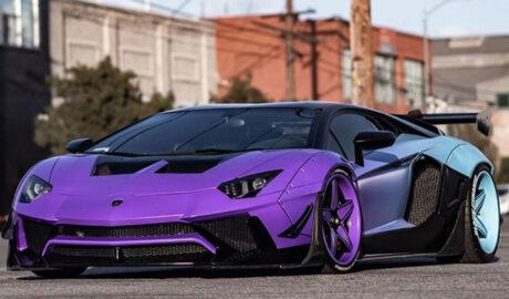 Lamborghini ของ Chris Brown ผลงานระดับมาสเตอร์พีชจาก RDBLA