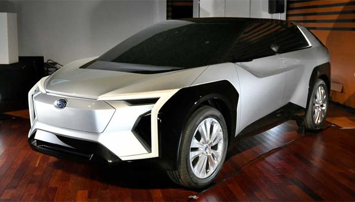 Subaru Evoltis รถอเนกประสงค์ไฟฟ้าแห่งโลกอนาคต