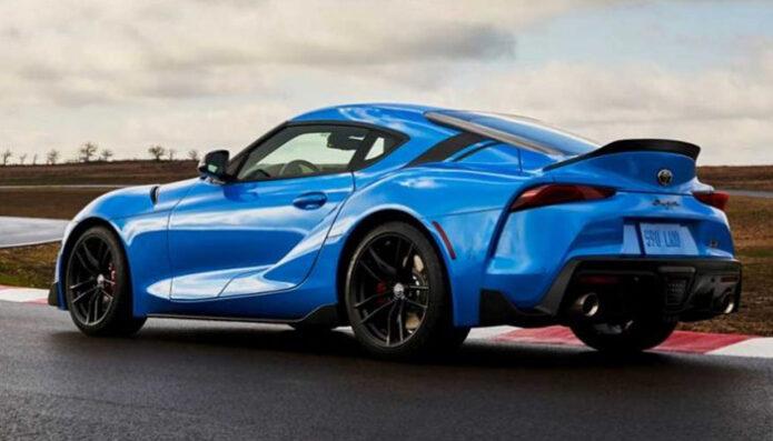 อัพเกรดใหม่หมดจด Toyota Supra RZ Horizon Blue Edition