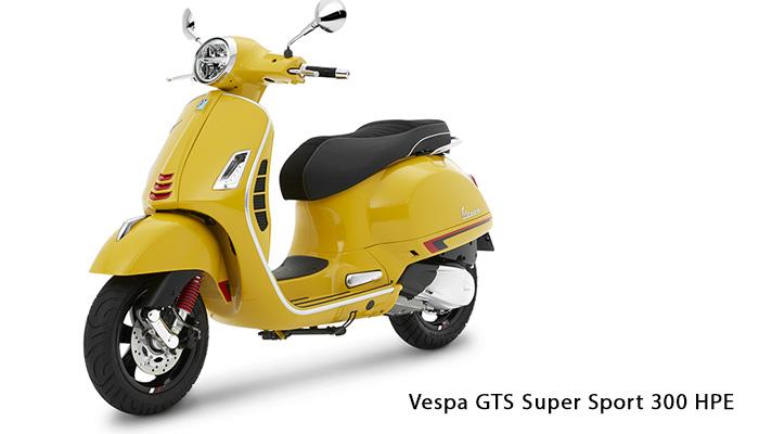 Vespa GTS Super Sport 300 HPE รถย้อนยุคโดนใจคนรุ่นใหม่