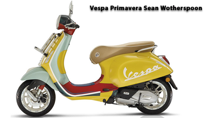 Vespa Primavera Sean Wotherspoon สองล้อสุดคลาสสิค สไตล์มินิมอล