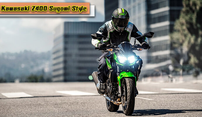 Kawasaki Z400 Sugomi Style เก๋า แกร่ง แรงสั่งได้