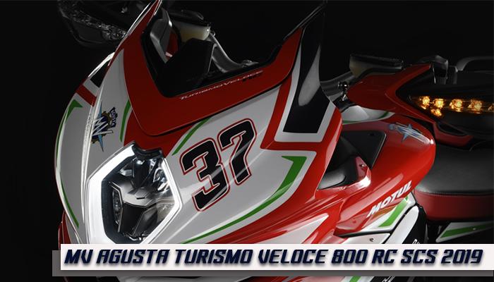 MV AGUSTA Turismo Veloce 800 RC SCS 2019