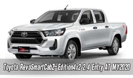 Toyota RevoSmartCabZ-Edition4x2 2.4 Entry AT MY2020