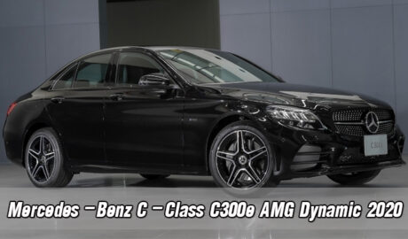 รีวิวรถยนต์รุ่นMercedes-Benz C-Class C300e AMG Dynamic 2020