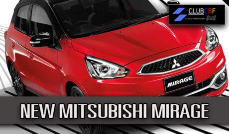 NEW MITSUBISHI MIRAGE รถใหม่ โดนใจวัยกำลังสร้างเนื้อสร้างตัว